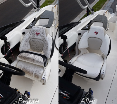 Before/After Boat Clean